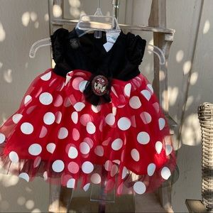 Minnie Mouse dress for Halloween size 3/mos